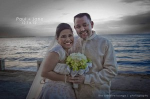 Paul + Jane Galleto wedding at  Chali Beach