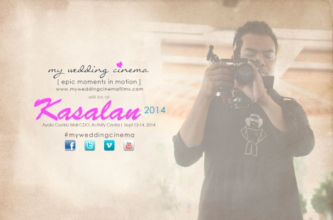 MyWeddingCinema in Kasalan 2014