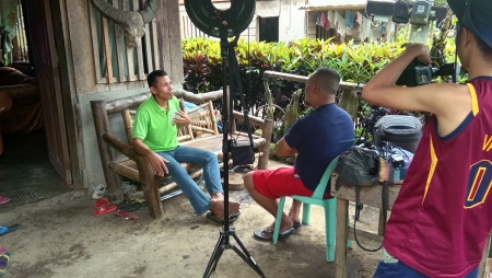 Documentary Videographer in CDO filming in SIOAN